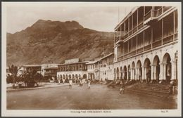 Round The Crescent, Aden, C.1910s - Lehem RP Postcard - Yemen