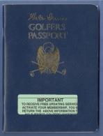 GOLFER PASSPORT -  WATERLOO, ILLINOIS, 102 Seiten, Dez.1996, Format Ca.18 X 13,5 Cm, Gute Erhaltung - Eintrittskarten