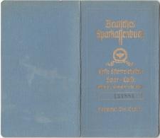 DEUTSCHES SPARKASSENBUCH, Ausgestellt In Wien 1945, 16 Seiten, Gute Erhaltung - Historische Dokumente