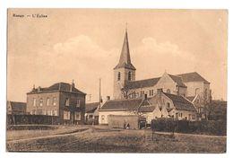 Rongy L'église Bon état 1941 - Brunehaut
