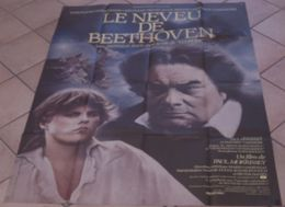 AFFICHE CINEMA ORIGINALE FILM LE NEVEU DE BEETHOVEN Paul MORRISSEY Wolfgang REICHMANN BIRKIN BAYE 1985 DESSIN BERNHARDT - Manifesti & Poster