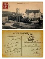 Le Guichet (Essonne 91) - La Gare Avec Train (locomotive à Vapeur) à Quai - Gares - Avec Trains