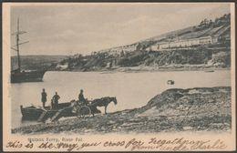 Malpas Ferry, River Fal, Cornwall, C.1900-05 - Argall's U/B Postcard - England