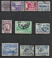 TEN AT A TIME - PERU - VERY OLD - LOT OF 10 DIFFERENT 3 - USED OBLITERE GESTEMPELT USADO - UNKNOWN VALUE - Peru