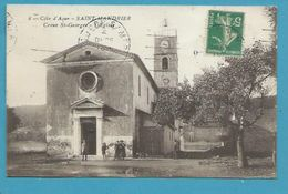 CPA 8 - Eglise - Creux St-Georges SAINT-MANDRIER 83 - Other Municipalities