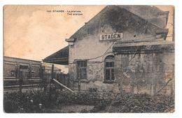 Staden 1931 La Station - Staden