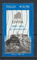 °°° ITALIA 2013 - CIVITA °°° - 6. 1946-.. Repubblica