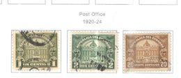Ecuador Posta Tax 1920/24 Post Office  Scott RA 10/12+ See Scans On Scott.Page - Ecuador