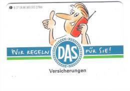 Germany  - S 07/96 - DAS Versicherung - Insurance - Germany