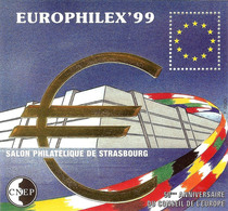 Feuillet CNEP N°29 (1999) Neuf ** - Europhilex 99 - 50ème Anniv. Du Conseil De L'Europe - CNEP