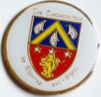 BB 390 )....BLASON...............CHATRES  SUR  CHER...........département De Loir-et-Cher En Région Centre-Val De Loire. - Ciudades