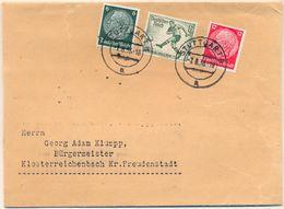 Nx369: 611+516+519: STUTTGART -7.8.36 > Bürgemeister.. - Lettres & Documents