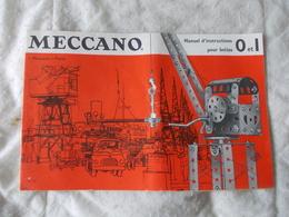 Lot De 6 Documents Meccano Pochettes 2 Et 3 - Meccano