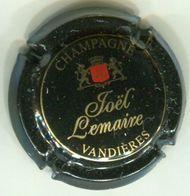 CAPSULE-CHAMPAGNE LEMAIRE Joel N°01 Noir Or & Rouge - Champagne