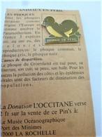 PINS ANIMAUX EN PERIL LES PHOQUES / 33NAT - Animals