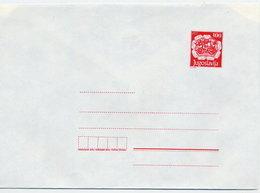 YUGOSLAVIA 1989 Postal Coach 300. D. Envelope, Unused.  Michel U89 - Postal Stationery