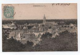 COMBOURG (35) - Vue Prise Du Château - Voyagée - Bon état - - Combourg