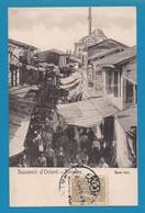 Turquie Türkei Smyrna Izmir Smyrne Souvenir D' Orient Bazar Turc CAD 1913 - Türkei