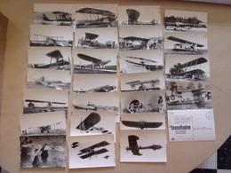 LOT DE 25 CP Des Années 60 D'AVIONS ANCIENS - Avions