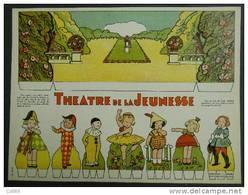 Carton à Découper Cardboard Cutting Theatre De La Jeunesse édit Ménard Fontainebleau-Toulouse Postage Inclus/ L'Europe - Vieux Papiers