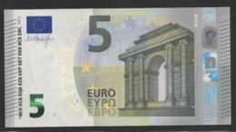 € 5 SPAIN  VB V010 J6  LAST POSITION  UNC - 5 Euro