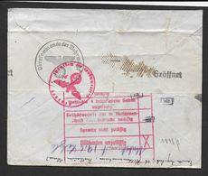 Enveloppe Censurée De MULHOUSE - Guerre De 1939-45