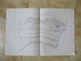 1876 PLAN GENERAL DES MARAIS PONTIN ( TERRACINA PROVINCE DE LATINA ) DEBAUVE DES EAUX EN AGRICULTURE - Technical Plans