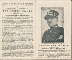 Oorlog WO-II - Politiek Gevangene Jan Jozef MARIS ° Stokrooi 1880 + Sonnenburg (D) 31 Januari 1944 - Religion & Esotericism