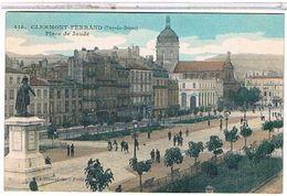 63 CLERMONT  FERRAND   PLACE  DE  JAUDE    TBE  1O990 - Clermont Ferrand