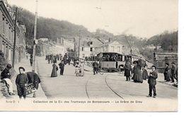 CPA 76 - CIE DES TRAMWAYS DE BONSECOURS - LA GRACE DE DIEU - France