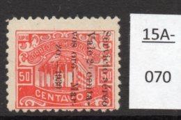 Honduras Rep. 1930 (March) Airmail 20c/50c Variety - See Text. MH - Honduras