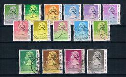 Hong Kong 1987 Königin Mi.Nr. 507/21 Satz Gestempelt - Hong Kong (...-1997)