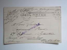 1918 89e Régiment D'Infanterie Camp De Fürstenberg CACHET MILITAIRE GEPRUFT FURSTENBERG I MECKL PRISONNIERS DE GUERRE - Guerre 1914-18