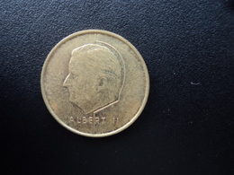 BELGIQUE : 5 FRANCS  1998   KM 189    SUP - 03. 5 Francs