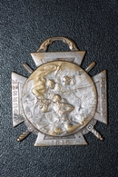"WW1 Insigne Médaille De Poilu Grande Guerre 14/18 ""Journée Du Poilu 1915"" WWI - 1914-18"