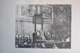 GRAVURE 1190 / LA CHAPELLE SIXTINE  En 1833 Par J.P. SUDRE Né à ALBI En 1783 - Prints & Engravings