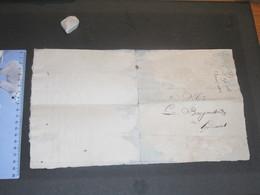 VERVIERS - HODIMONT-LETTRE AU BOURGMESTRE-Dépt. De L'Ourte - 23/4/1814- Emprunt Forcé Exigé Des Habitants - Manuscrits