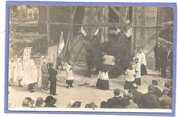Le Verguier - église Commémoration Carte Photo - France