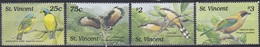 St. Vincent 1989 Tiere Fauna Animals Vögel Birds Oiseaux Pajaro Uccelli Kuckuck Cuckoo, Mi. 1226-9 ** - St.Vincent (1979-...)