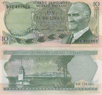 (B0430) TURKEY, L.1930 (1966 ND). 10 Lira. P-180. UNC - Turquie
