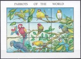 St. Vincent 1995 Tiere Fauna Animals Vögel Birds Oiseaux Pajaro Uccelli Papageien Parrots, Mi. 3053-1 ** - St.Vincent (1979-...)