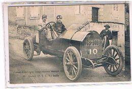 63   CIRCUIT  D' AUVERGNE  COUPE  GORDON  BENNETT  1905     CAGNO   (F.I.A.T.)  Italie     TBE  1V618 - Autres Communes