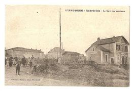 55 Aubréville, La Gare, Vue Extérieure (A1p13) - (2) - France