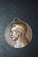 """WW1 Insigne Médaille De Poilu Grande Guerre 14/18 """"Journée 1914 / 1915 - Général Gallieni"""" WWI - 1914-18"""