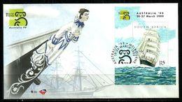 South Africa - 1999 Australia 99 World Stamp Exhibition FDC 6.95 - Südafrika (1961-...)