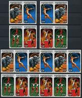 40512) DDR Zusammendruck Kombination Postfrisch Komplett Aus 1985, 95.- € - Briefmarken