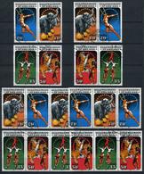 40513) DDR Zusammendruck Kombination Gestempelt Komplett Aus 1985, 200.- € - Briefmarken
