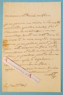 L.A.S Louis CASTEL De VIELFOY Chirugien Militaire - Campagnes Napoléoniennes - Issendolus - Lettre Autographe Napoléon - Autographes