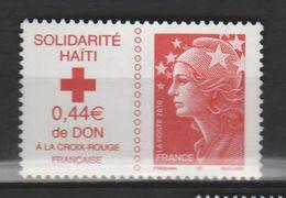 "FRANCE ,N°4434 "" SOLIDARIRÉ HAÏTI"" - Oblitérés"