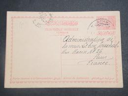 TURQUIE - Entier Postal De Samsoun Pour Paris En 1913 - L 15189 - 1858-1921 Empire Ottoman